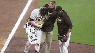 Giants Padres Baseball fernando tatis jr injury