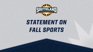 Southland Conference Fall sports announcement