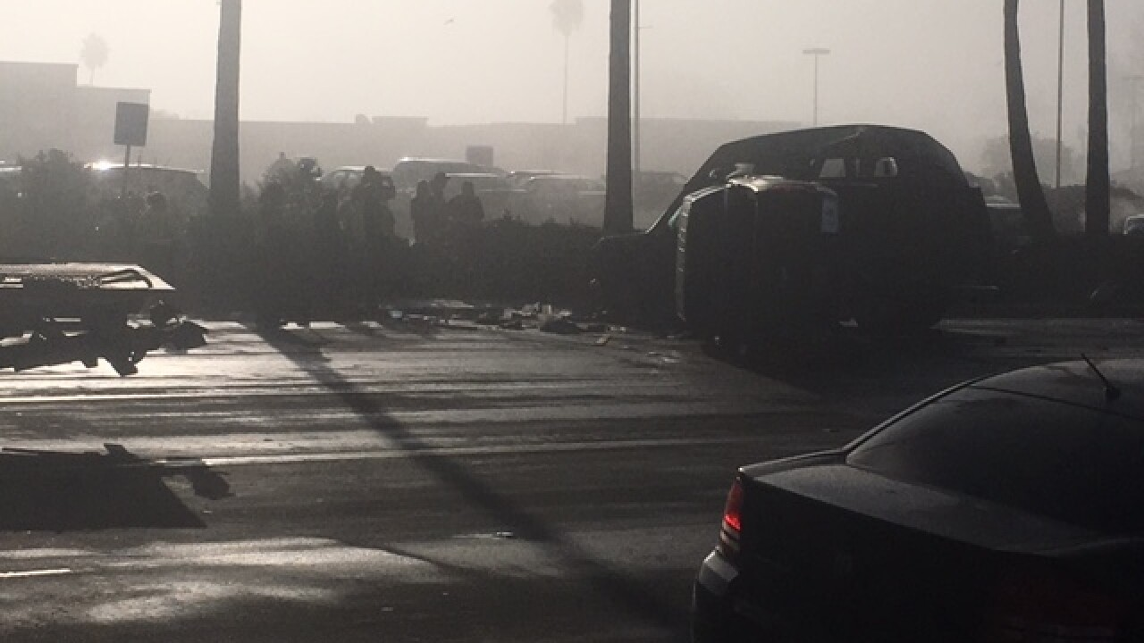 Driver crashes into van, kills sleeping man