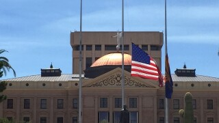 AZ government offices lower flags to half-staff