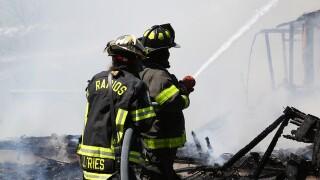 Fire destroys Lockport home