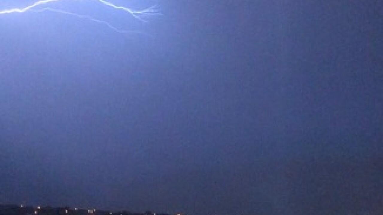 PHOTOS: Thunderstorms move through the valley