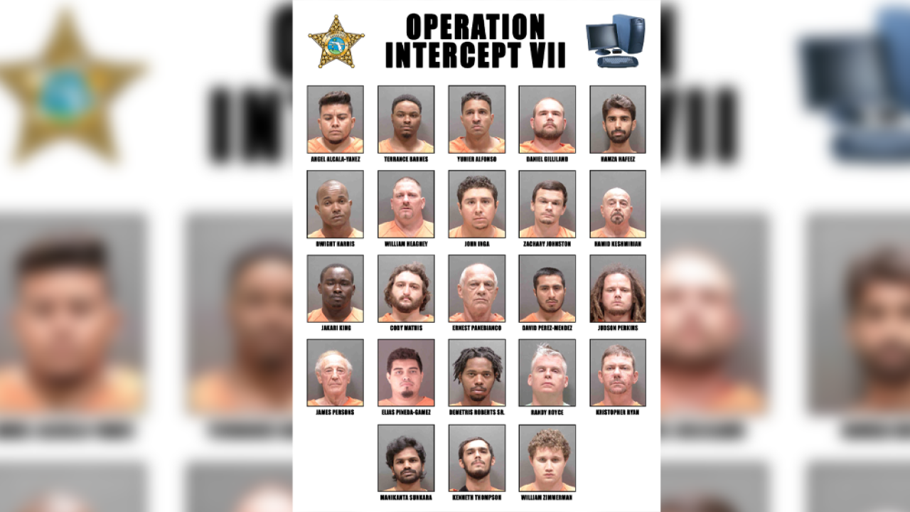 23 Arrested In Sarasota County For Traveling To Meet Minors For Sex Deputies Say