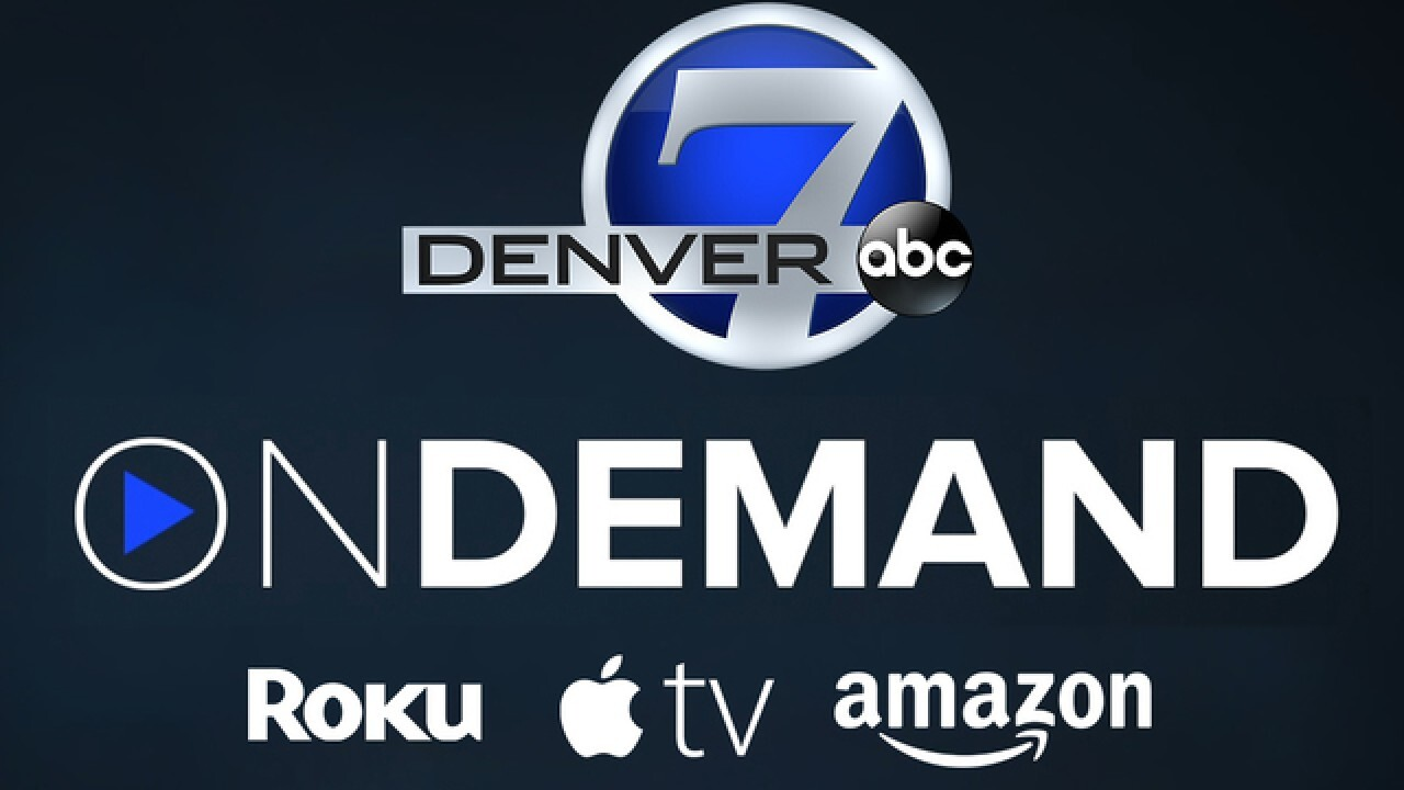 How to watch Denver7 on a streaming device like Roku, Apple