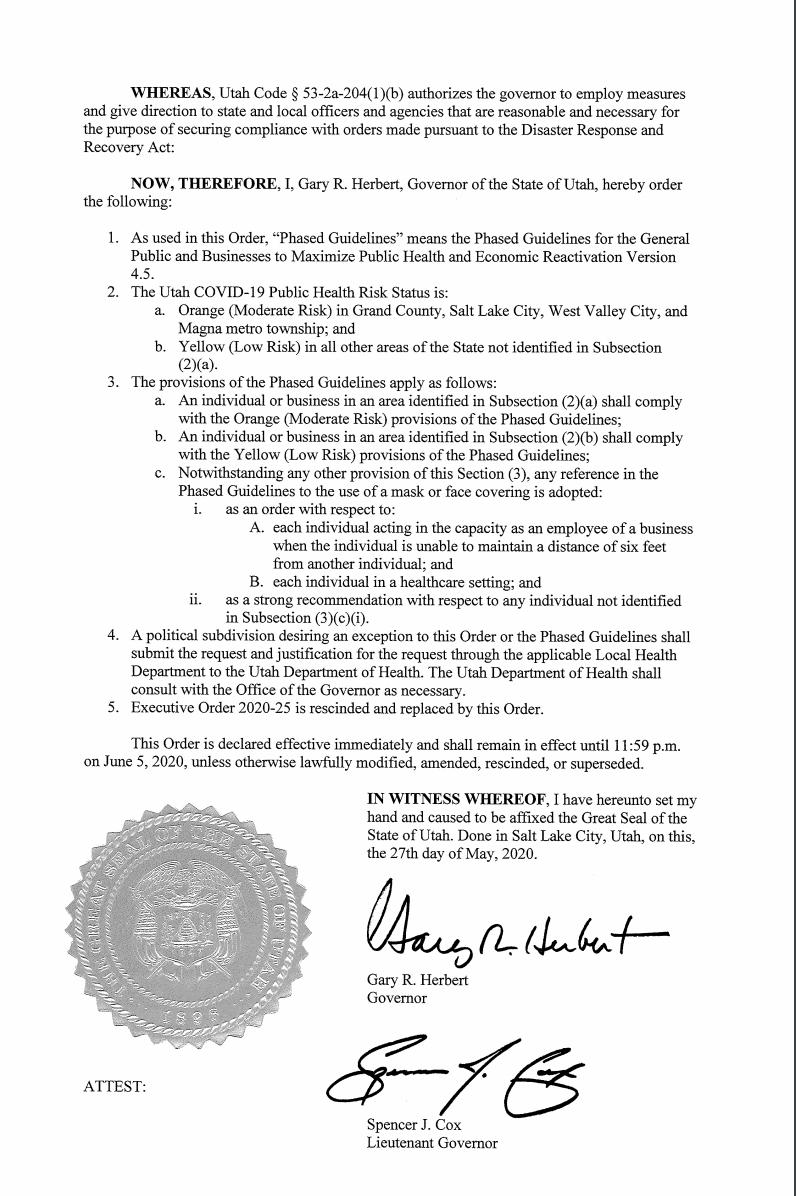 Executive order 2