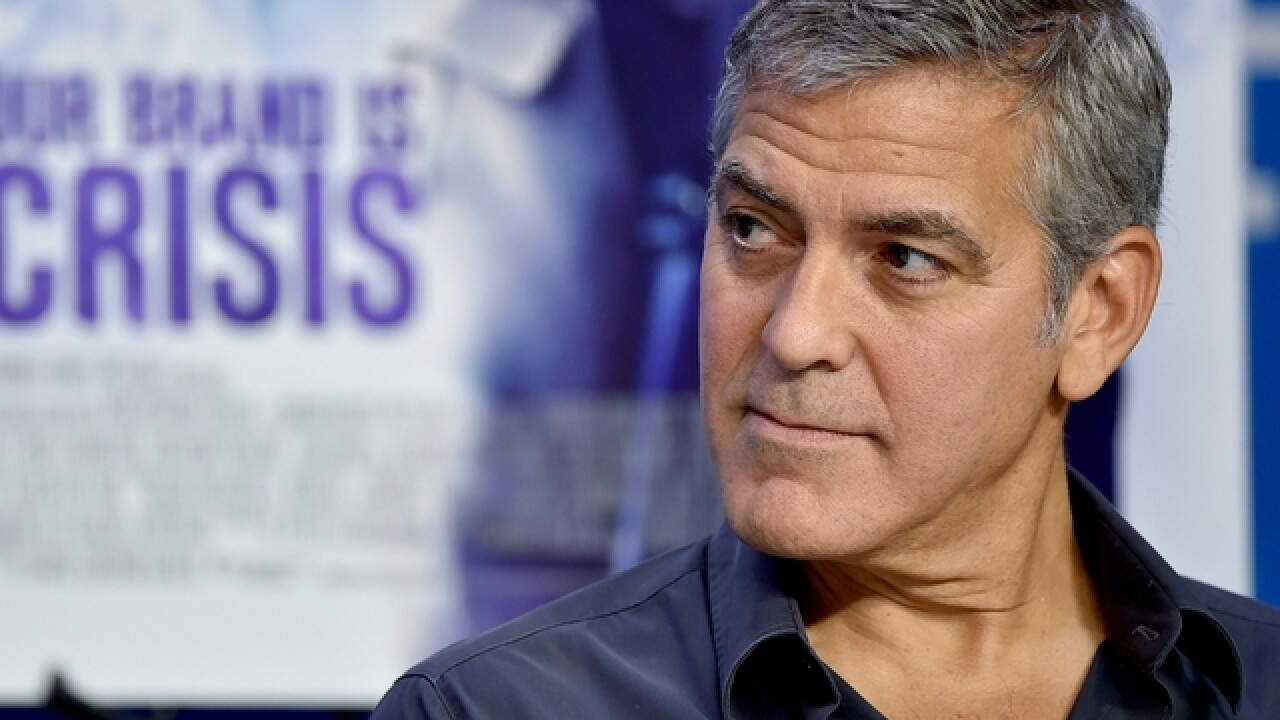 Clooney: There will not be a President Trump