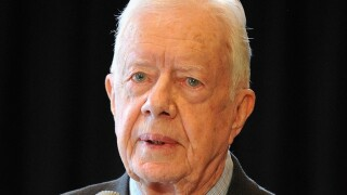 Jimmy Carter admitted to Canadian hospital after suffering from dehydration