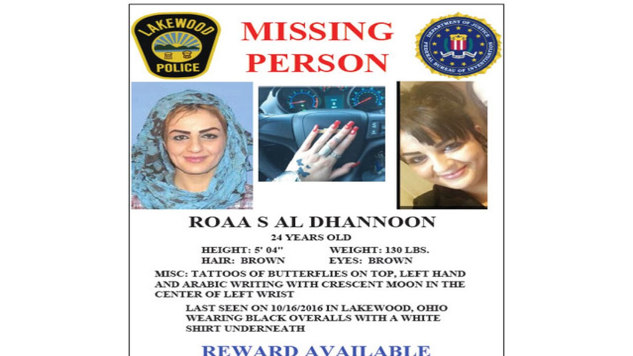 FBI: Missing woman may be in danger