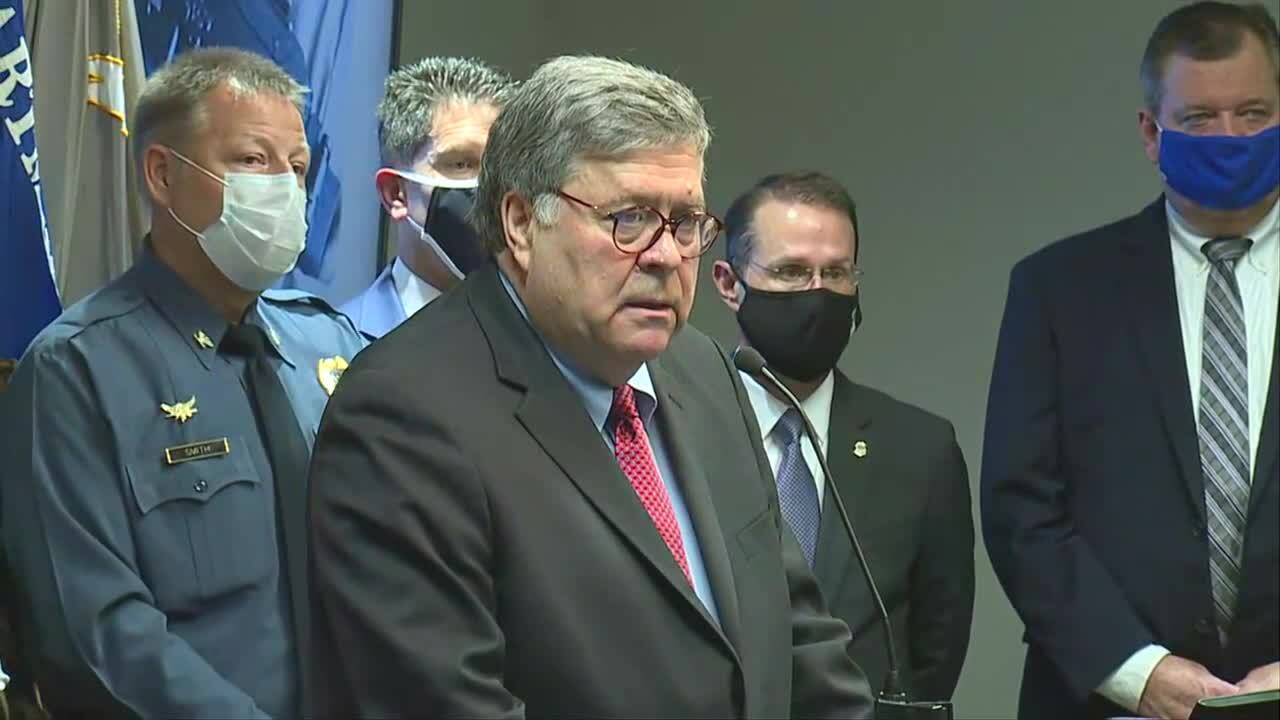 William Barr in KC