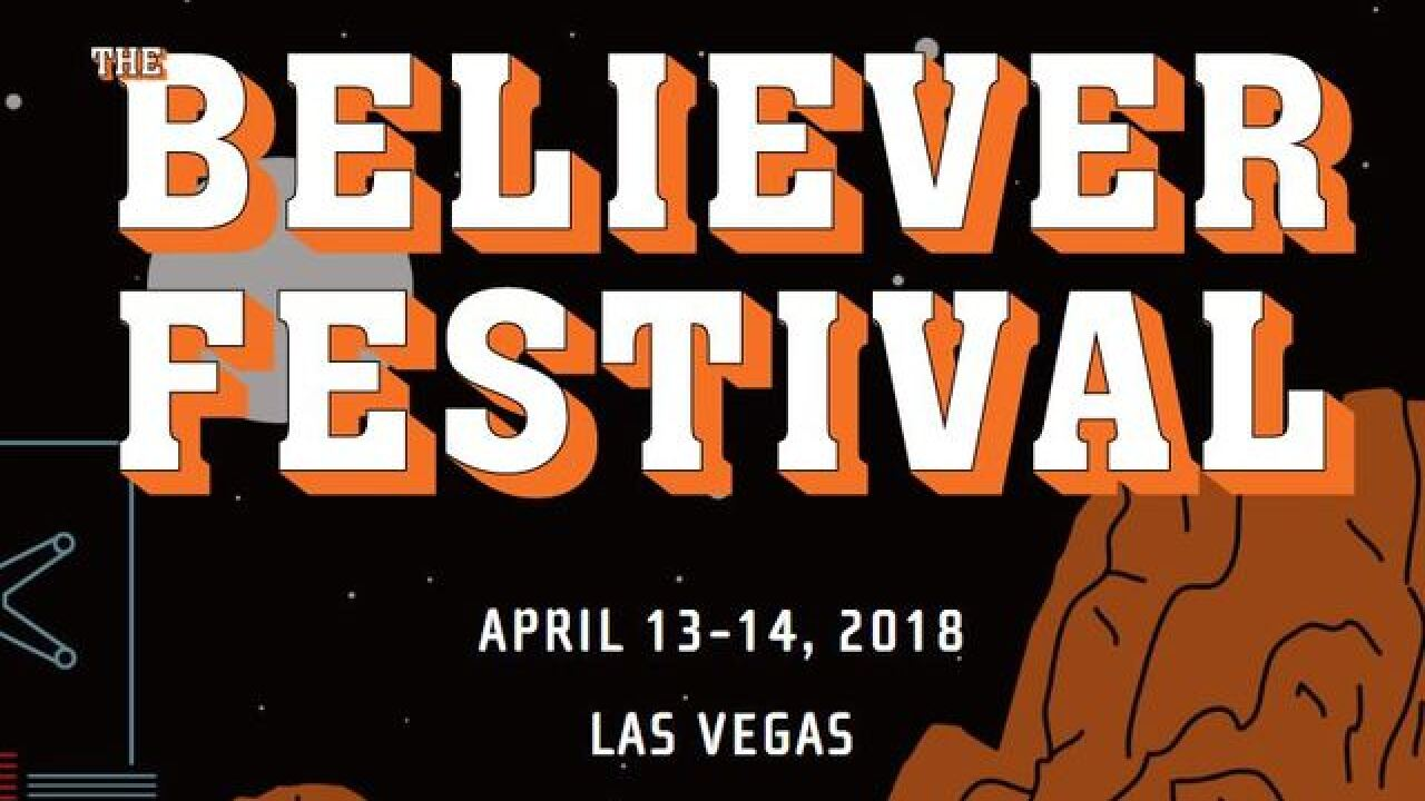 Pop-up reading ahead of The Believer Festival in Las Vegas