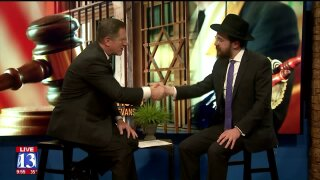 3 Questions with Bob Evans: Rabbi Avremi Zippel discusses years of sexual abuse, road torecovery