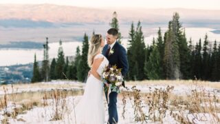 Fall Mountain Tamarack Wedding // Styled Shoot