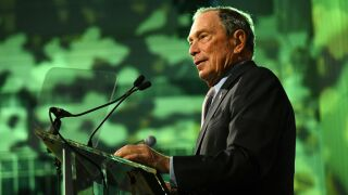 Former New York Mayor Michael Bloomberg files paperwork to run for president