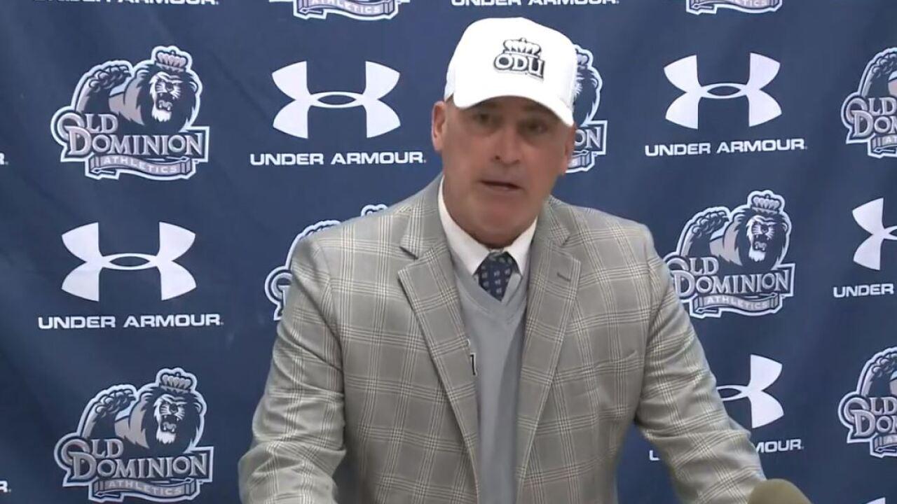 Watch: Bobby Wilder resigns as Old Dominion University head footballcoach