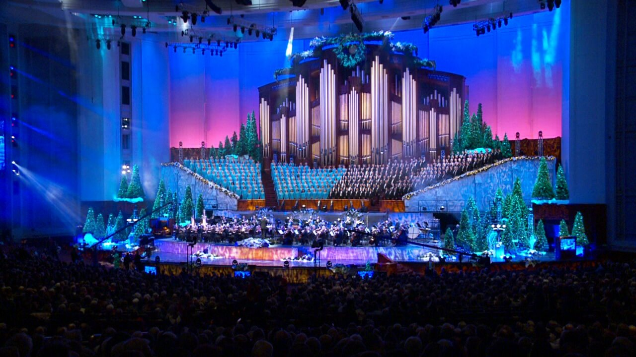 Christmas Concert 2020 The Tabernacle Choir at Temple Square cancels the 2020 Christmas