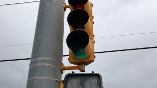 Walk signal fixed