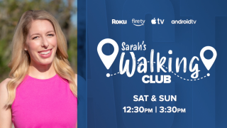 How to watch the Sarah's Walking Club special