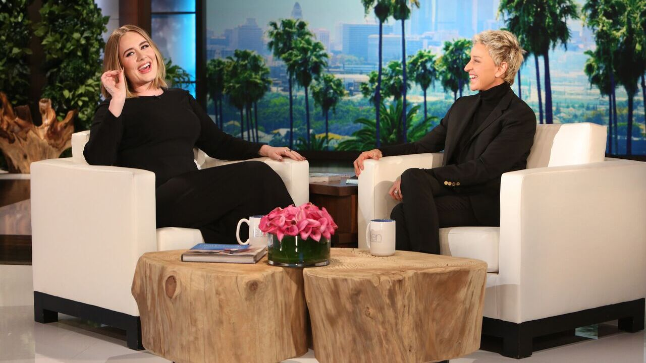 Adele tells Ellen she cried all day after 'embarrassing' Grammy performance