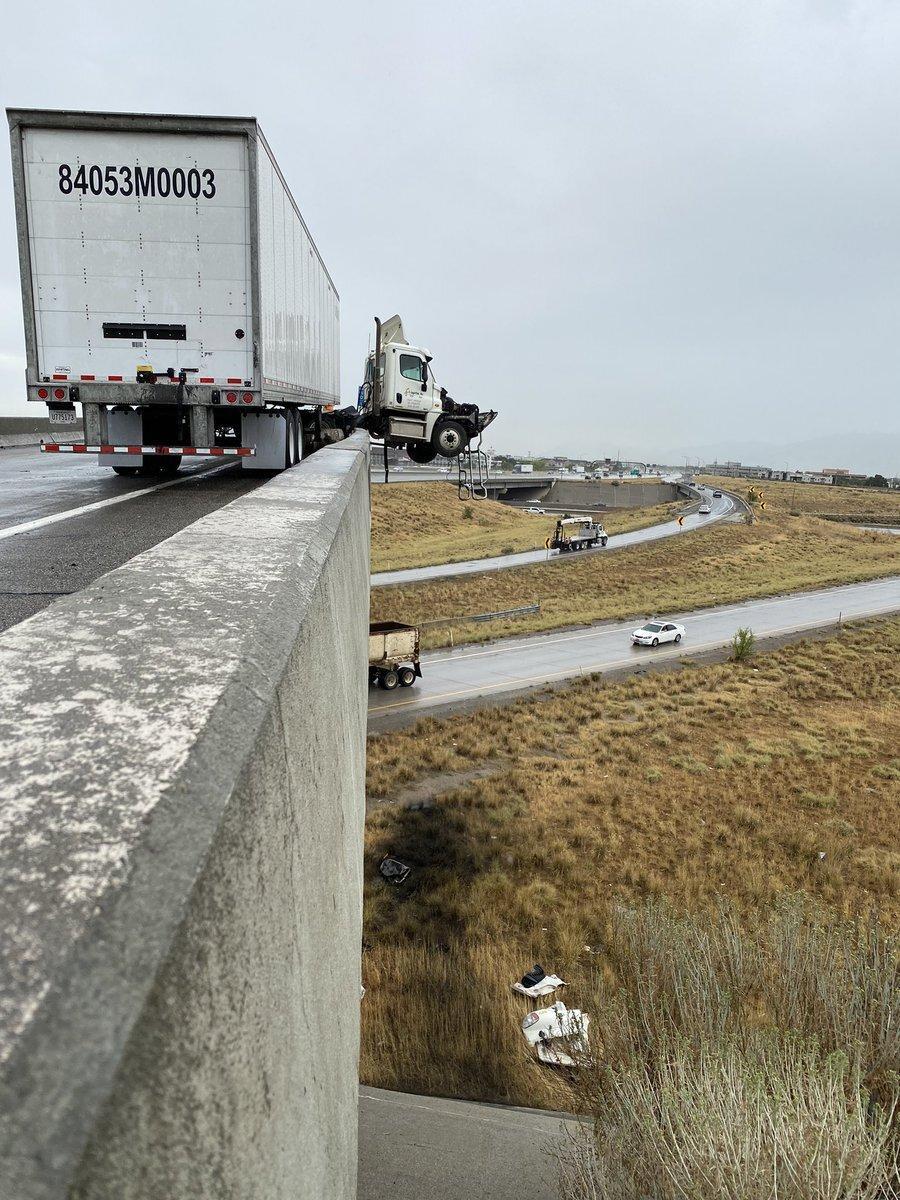 1-215 Truck Accident