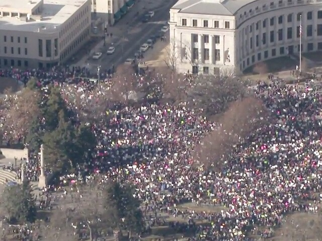 Women's March 2018: Protestors hit the streets across the country