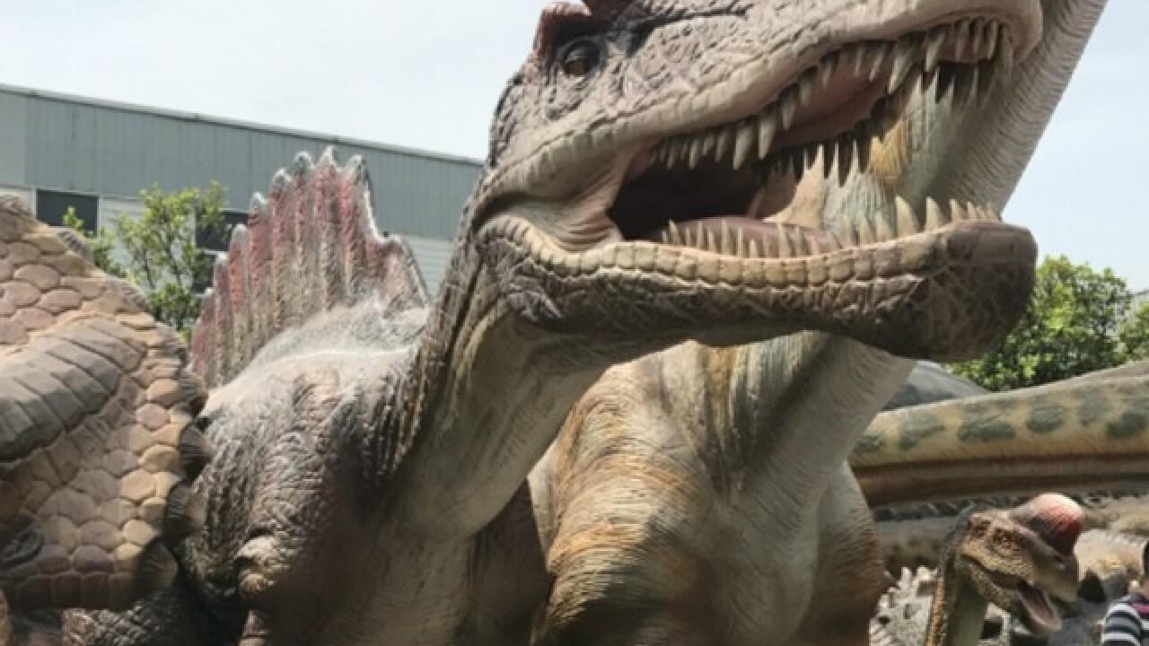 50 life-sized animatronic dinos coming to Odysea