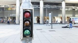Bike signal in Germany