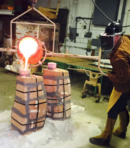 PHOTO GALLERY: Detroit RoboCop statue coming to life