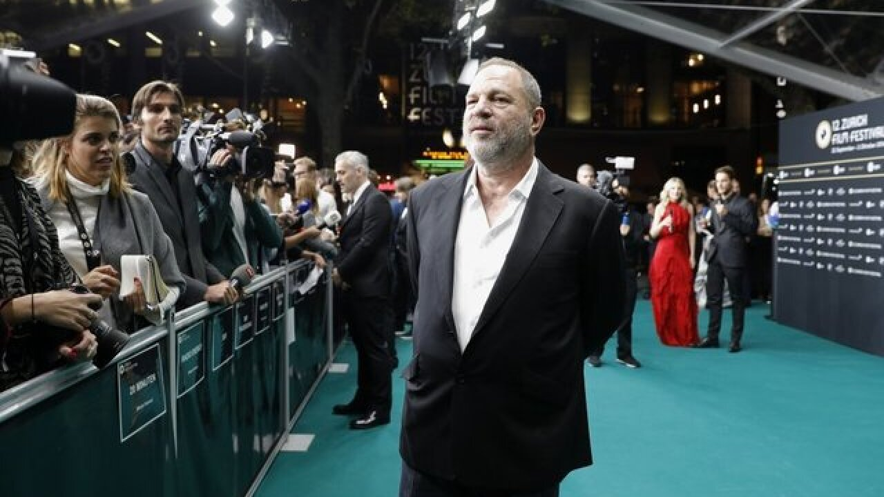 Academy kicks Harvey Weinstein out