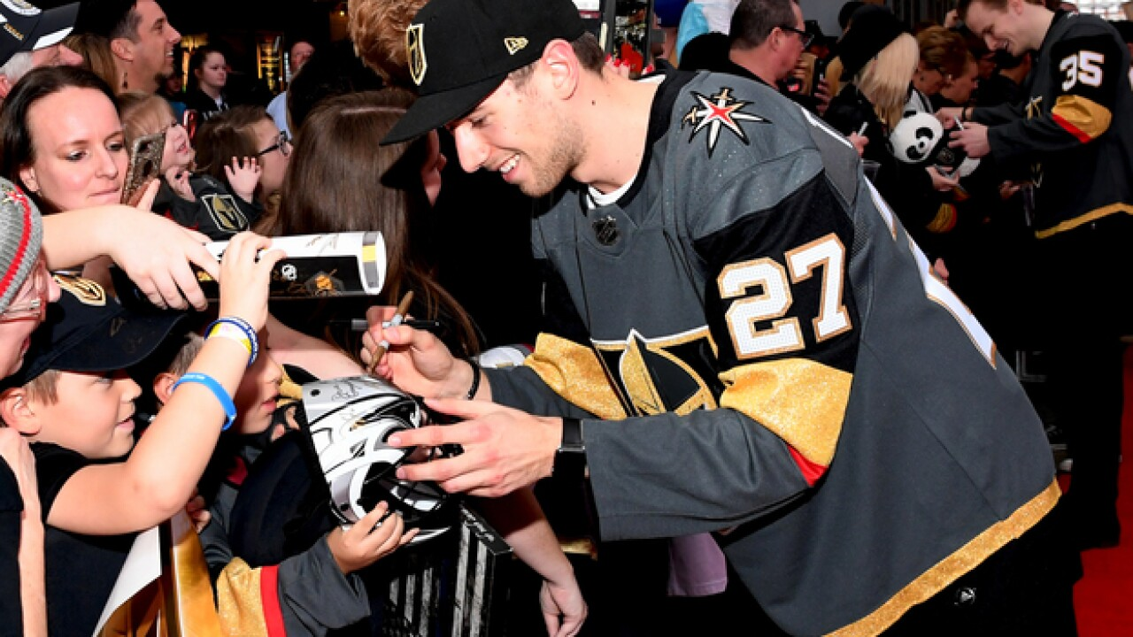 Vegas Golden Knights events open to the public