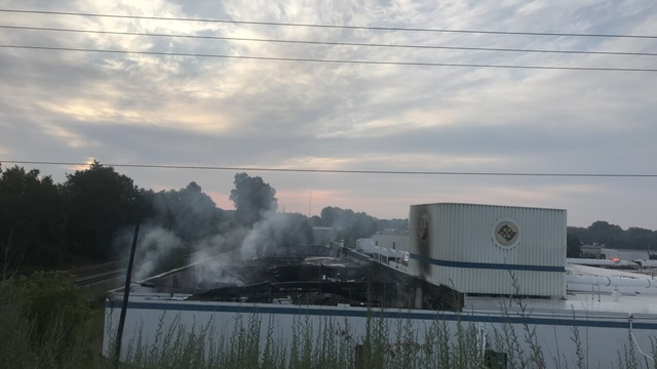 Overnight fire destroys Pewaukee business