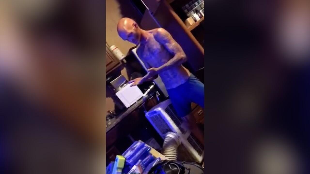 San Diego MMA fighter catches home intruder