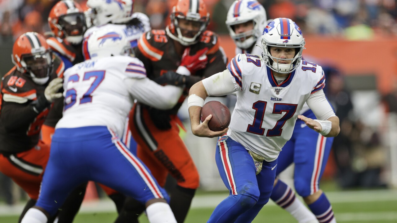 Bills rank in Bottom half of league to win Super Bowl 55