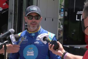 Jimmie Johnson comes to Road America, remembers his Pewaukee days