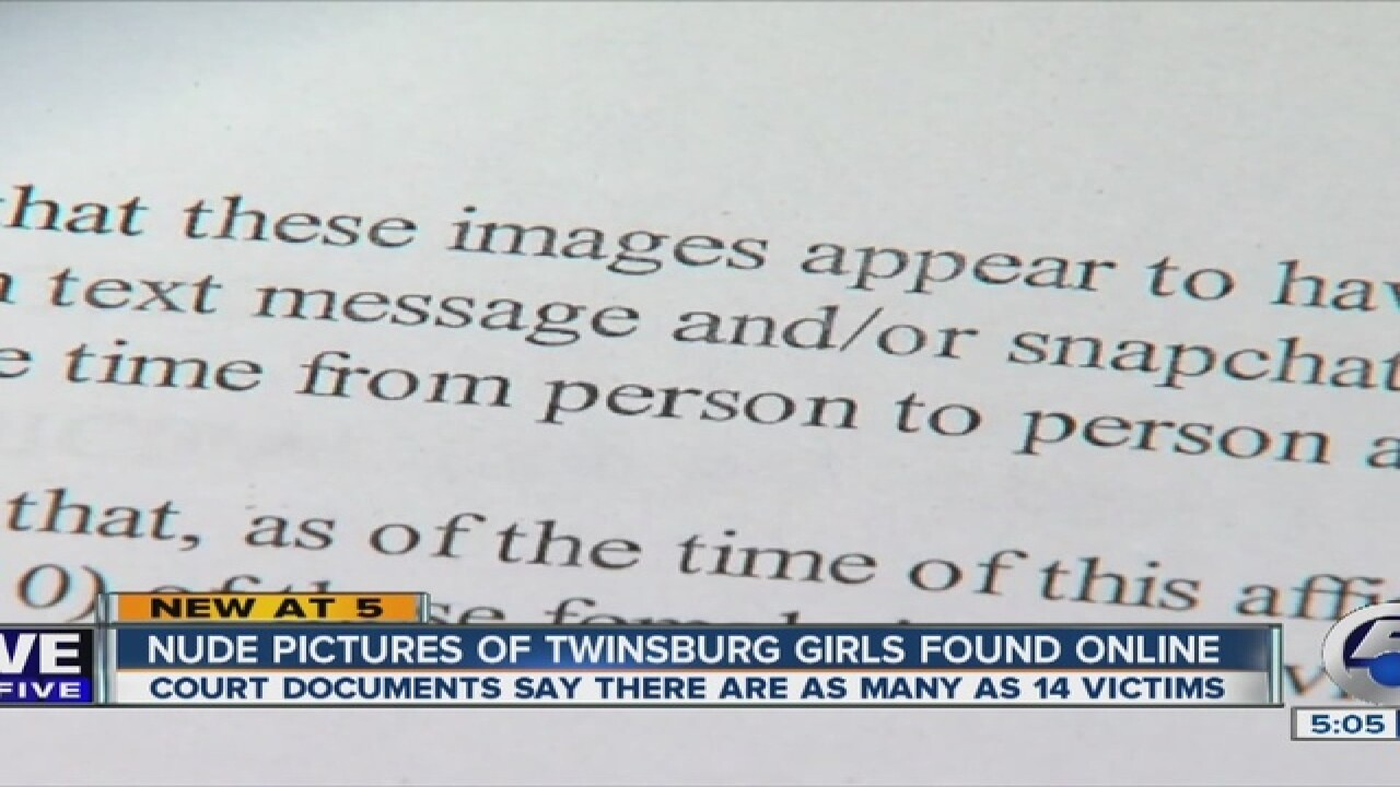 Court docs: About 14 victims in nude blog case