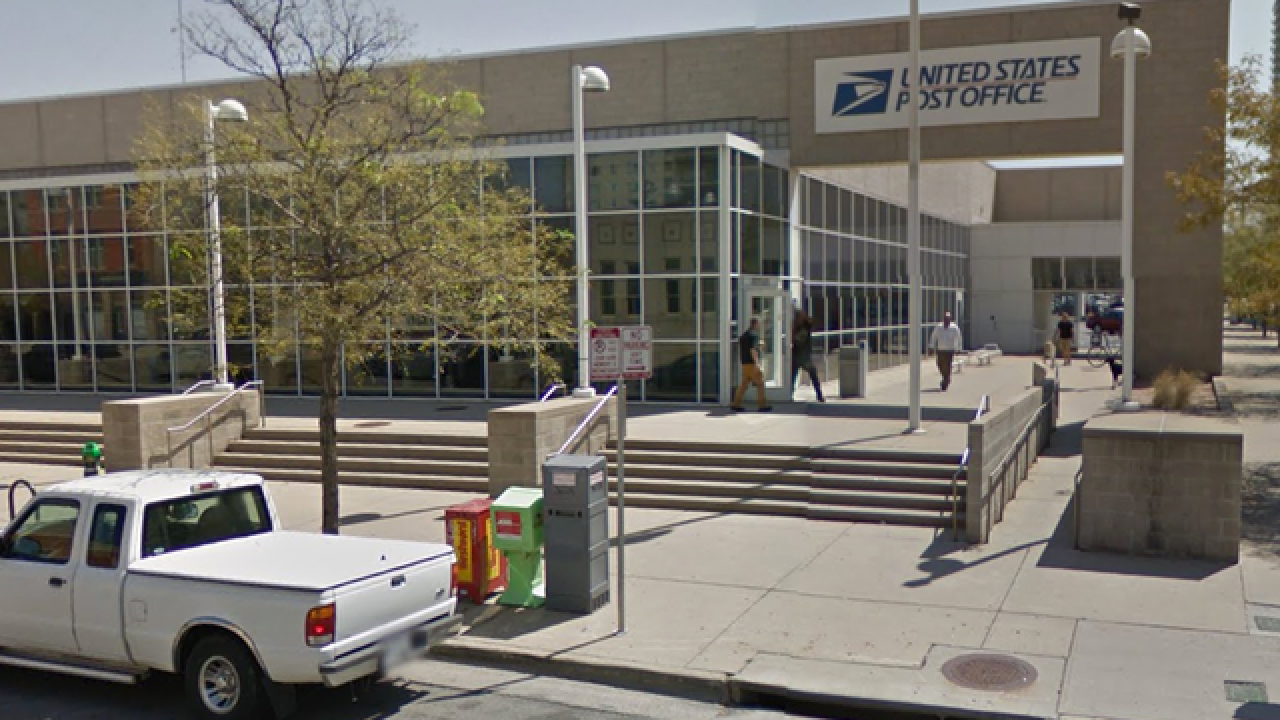 Colorado post office lobbies become magnet for homeless
