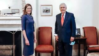 McConnell says Amy Coney Barrett 'could not be more fully qualified to serve on the Supreme Court'