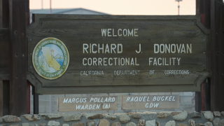 donovan state prison sign.png