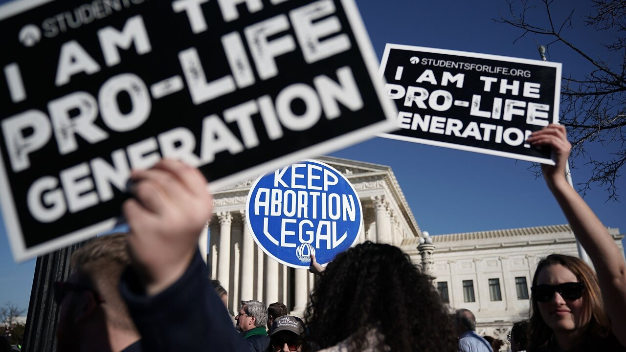 Supreme Court leaves intact block on Indiana abortion restriction, but allows fetal burial to go into effect