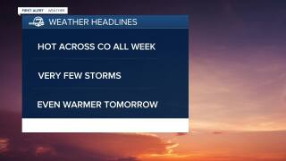 July 6 2020 5:15 a.m. forecast