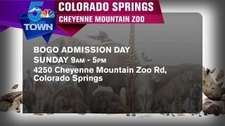 Cheyenne mountain zoo bogo