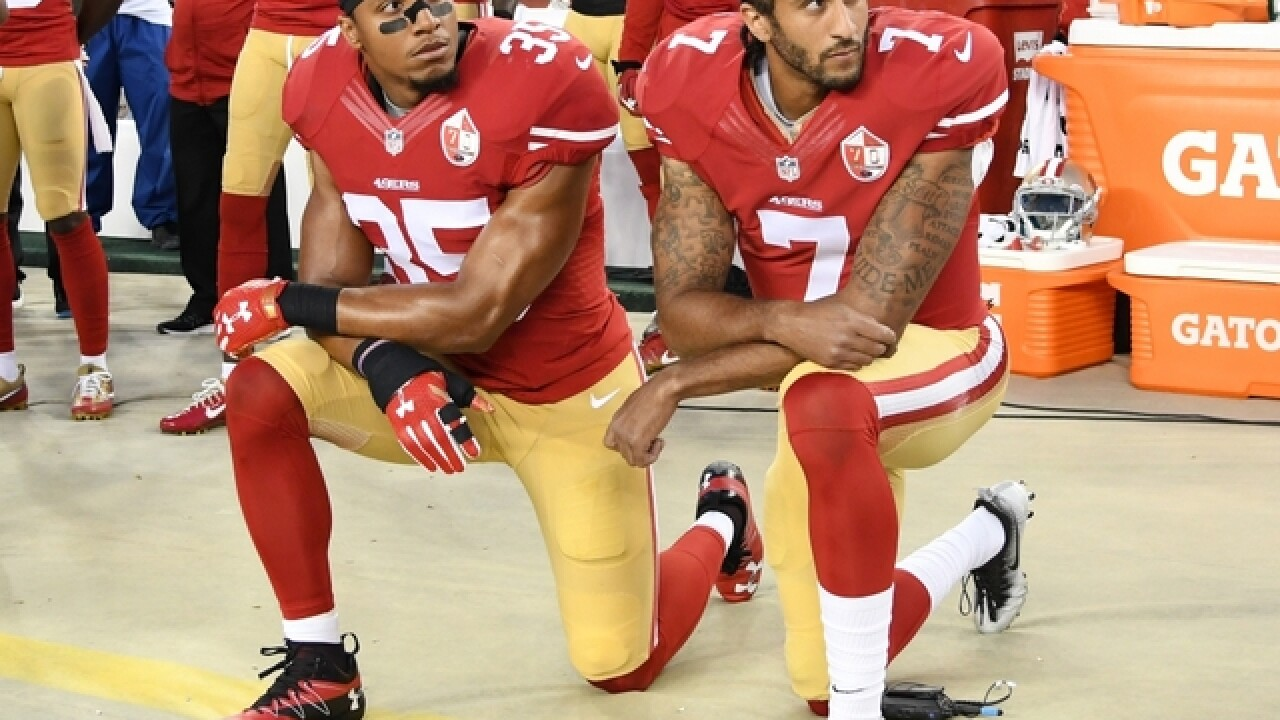 Eric Reid: Football player who's suing the NFL along with Colin Kaepernick, signs with Panthers