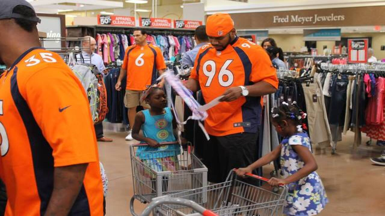 Denver Broncos help metro-area students