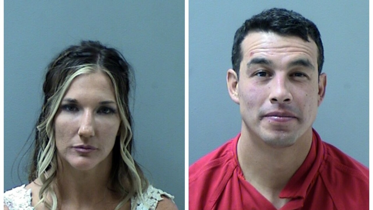 Wedding couple Prescott arrest.jpg