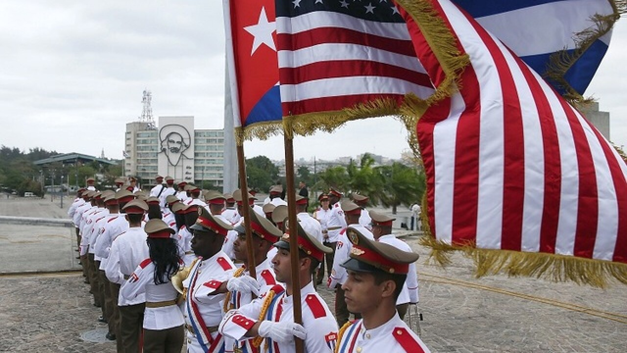 PHOTOS: History is made in Havana, Cuba