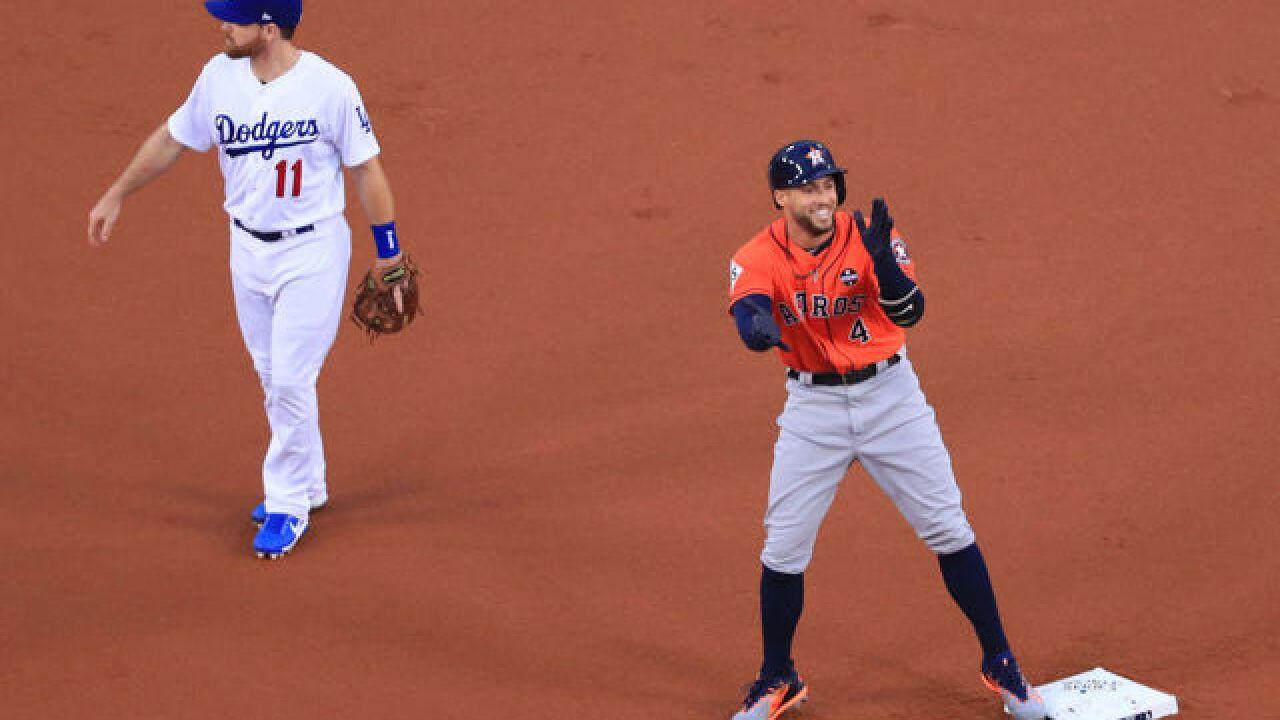 Houston Astros, Verlander win 2017 World Series