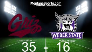 Montana 35, Weber State 16