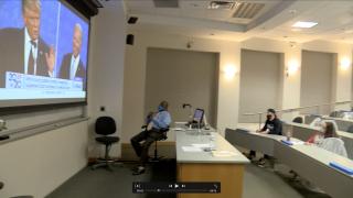 Debate takes center stage in TAMU-CC classroom
