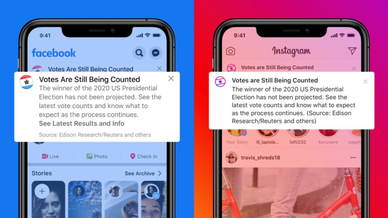 Facebook braces for contested election, voter intimidation