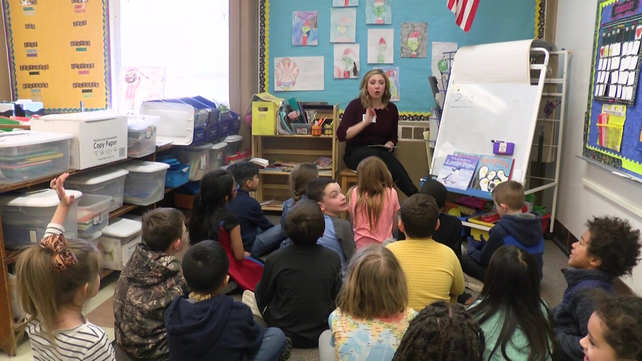 """Students encouraged to read more through the """"Read 2 Me"""" program"""