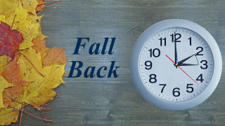 """Prepare to """"fall back"""" to Standard Time this weekend"""